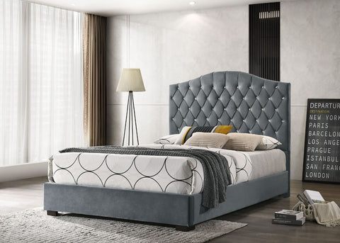 Franky Grey Bed