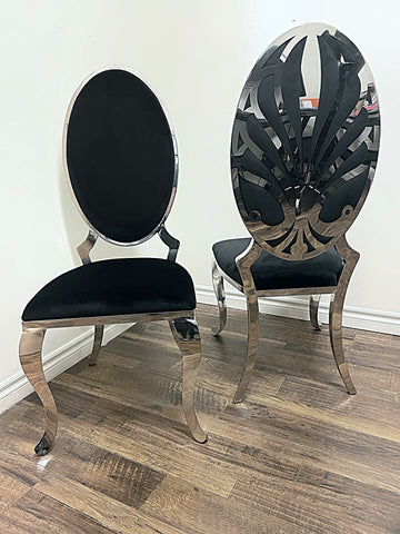 Ice Black Dining Chair (special)