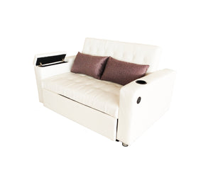 Indigo Sofa Bed White