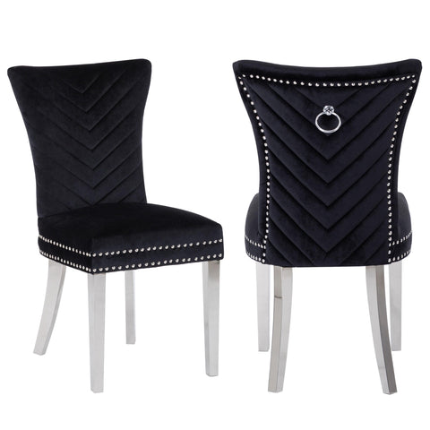 Ivo Side Chair in Black