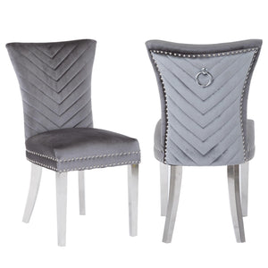 Ivo Side Chair in Grey
