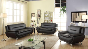 Mona 3 Pcs Living Room Set
