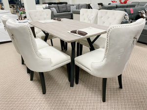 WLL Ivory 7pc Dining Set (special)