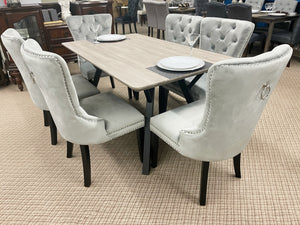 WLL Silver 7pc Dining Set (special)