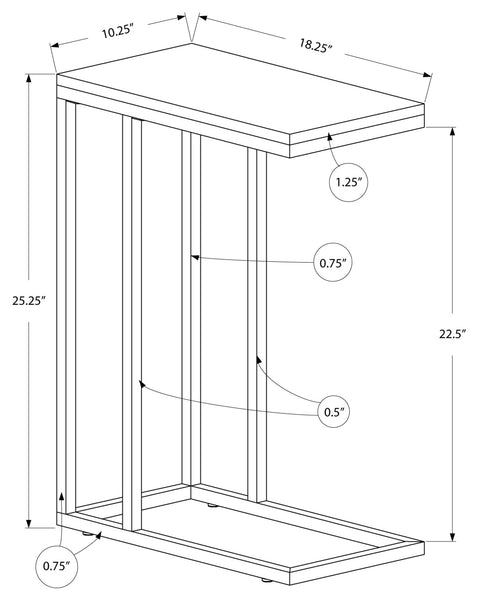 I 3403 ACCENT TABLE