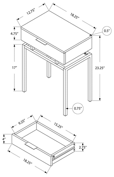 I 3466 ACCENT TABLE