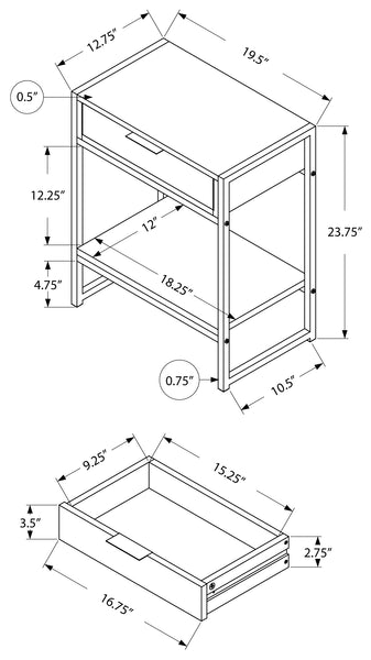 I 3484 ACCENT TABLE