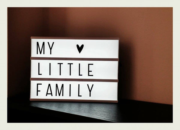 My Little Family Lightbox Message