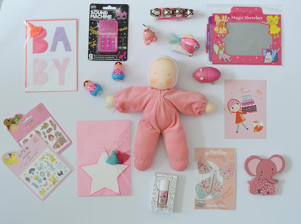 PINK PRODUCTS BY LITTLE CITIZENS