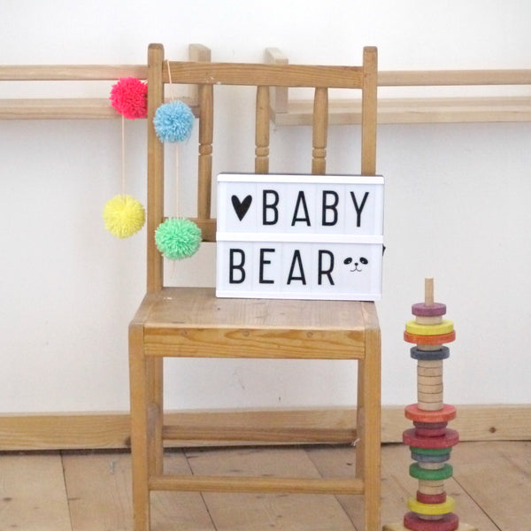 Lightbox design ideas Baby Bear at Little Citizens Boutique