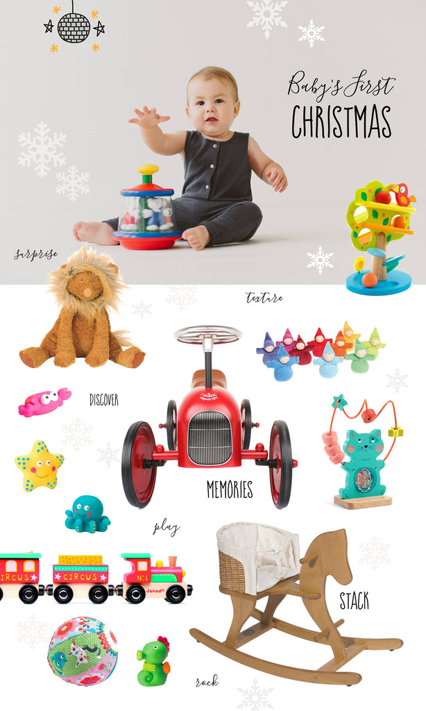 Baby's First Christmas ♡ Gift & Ideas Guide – Little ...
