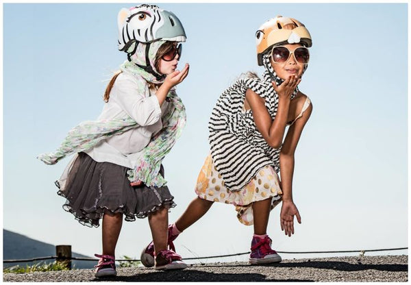 Crazy Safety fun and cool helmets for sale at Little Citizens Boutique