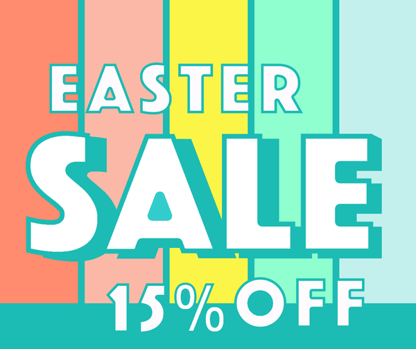 get ready for easter sale