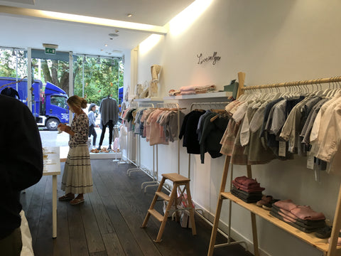 Cara Bonita and Love in Kyo brands at London Popup Concept Store with Little Citizens Boutique
