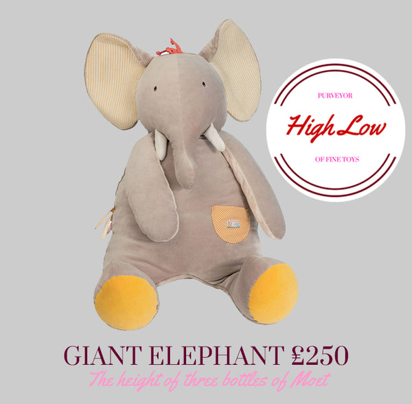 Papoum the Giant Elephant by Moulin Roty available at Little Citizens Boutique