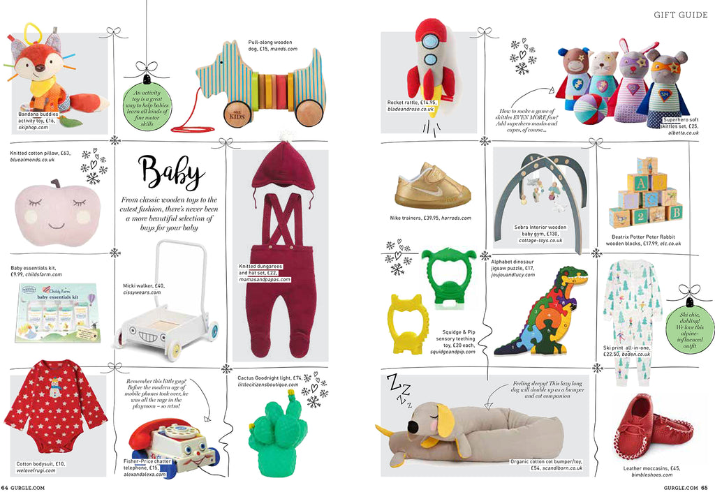 Gurgle Magazine features Little Citizens Boutique
