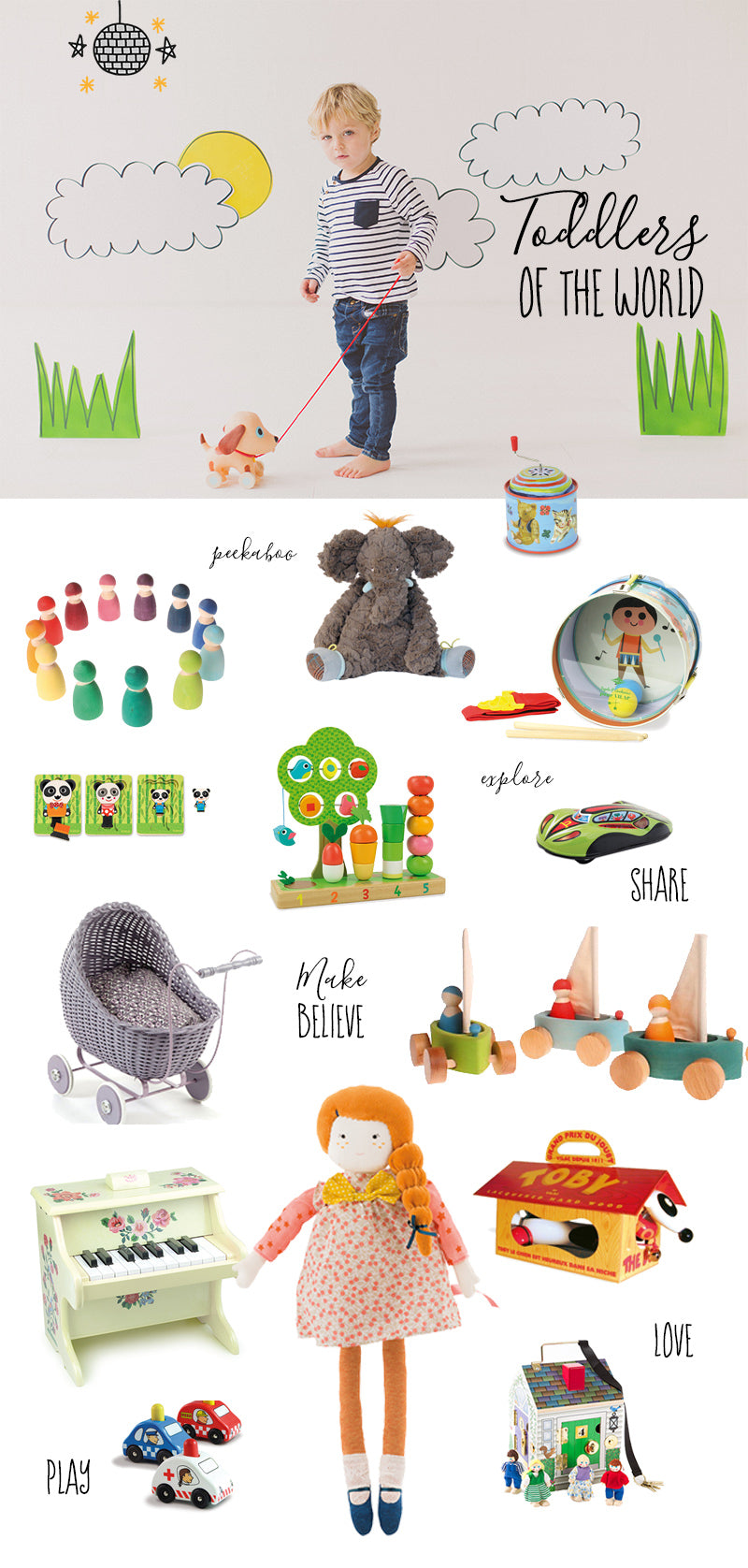 Gifts for Toddlers Guide for Best Presents this Christmas