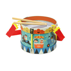 Ingela Arrhenius design marching drum toy by Vilac available for sale at Little Citizens Boutique