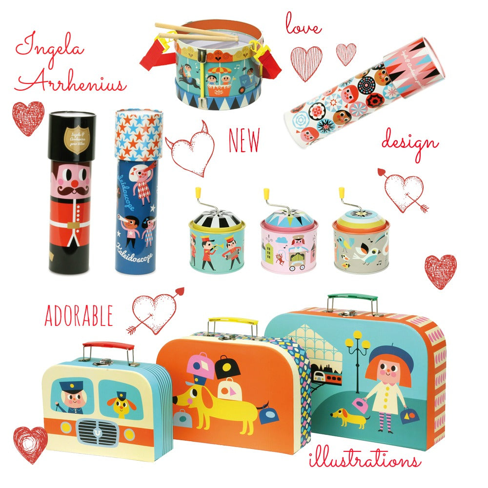 Ingela Arrhenius Scandi illustrated toys by Vilac for sale at Little Citizens Boutique