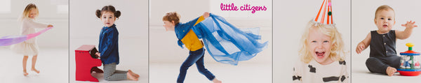 Little Citizens Boutique photographs of kids at play with the best toys available online.