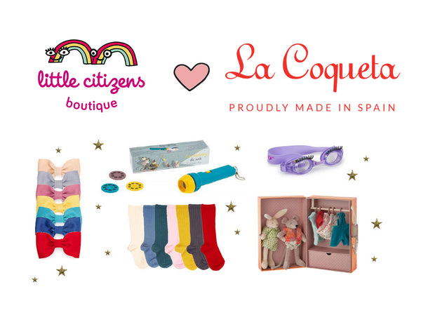 Little Citizens and La Coqueta Collaboration for a Christmas Toy and Children's Clothes Giveaway