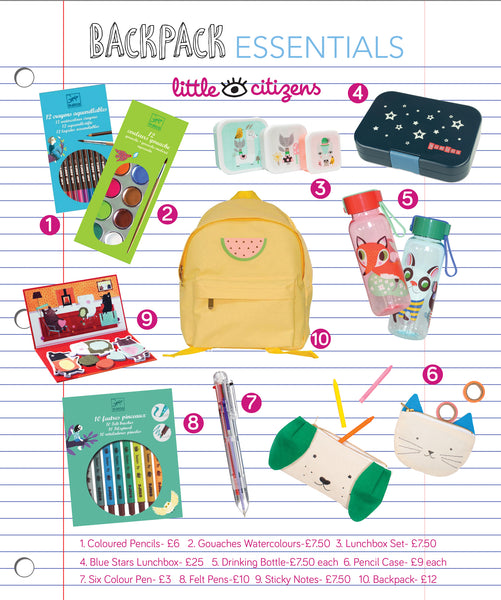 Back to School cute and fun supplies that makes learning fun!
