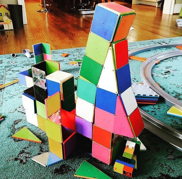 Magna Tiles are the best building toy to teach maths and spatial awareness