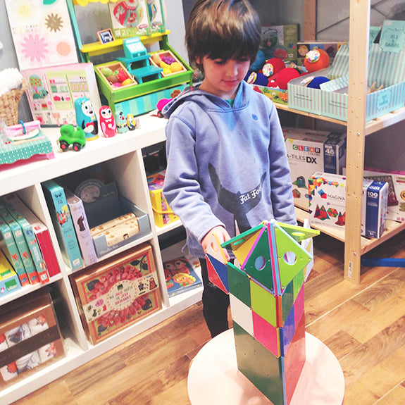Magna Tiles an open ended maths toys that lasts and entertains children of all ages while teaching them about building