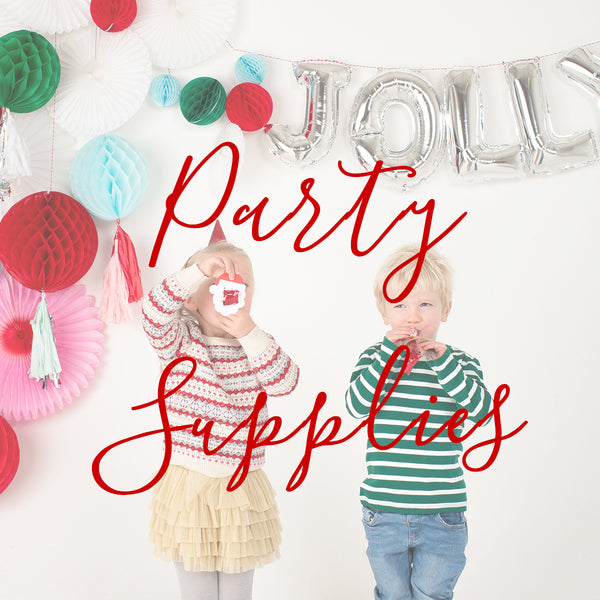 Best Christmas Party Supplies at Little Citizens Boutique by Meri Meri