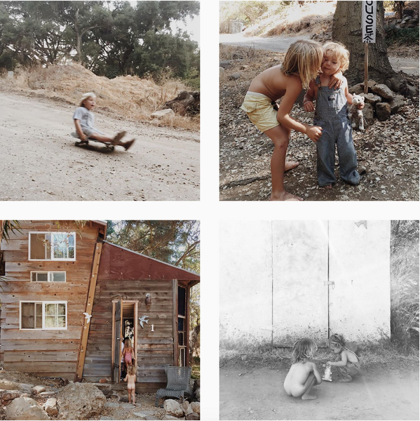 Houseinhabit Instagram cool mom feed, lovely photos of her boys