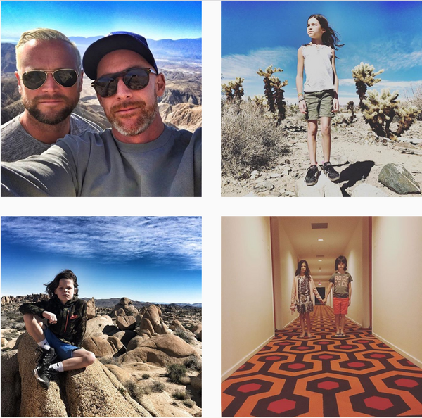 Jason Oranzo and family gorgeous dads and kids on Instagram