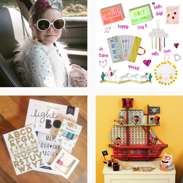 Little Citizens boutique Instagram account documenting life with fun toys and kids interior design