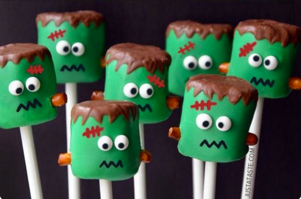 Frankenstein Marshmallows fun inspiration at Little Citizens