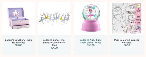 More Ballerina toys and accessories for kids on Little Citizens