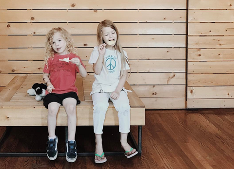 This mom and dad team are running their own business and raising two beautiful kids
