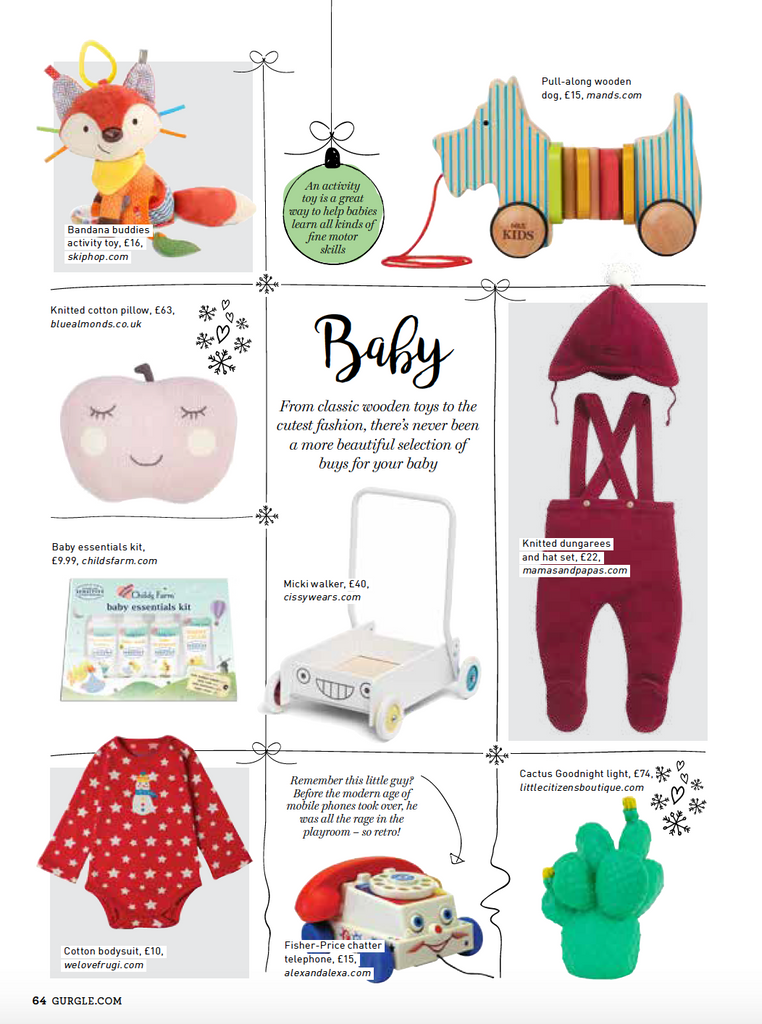 Little citizens featured on gurgle christmas gift guide