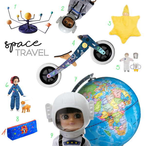 Space Travel Astronaut Toys for Children's Exploration
