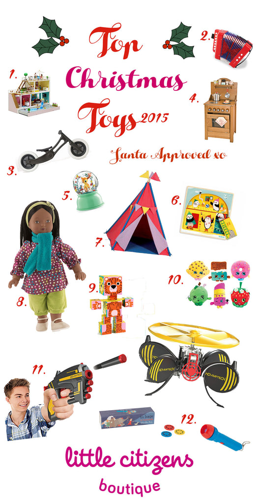 Top Toy Predictions for Christmas and Hannukah 2015 by Little Citizens Boutique