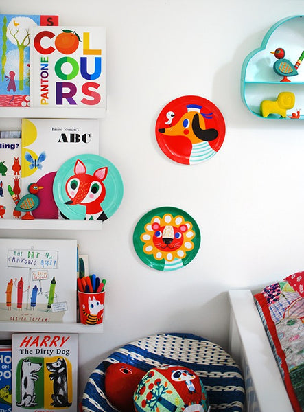 We Are Scout how to decorate a children's room using lots of colour