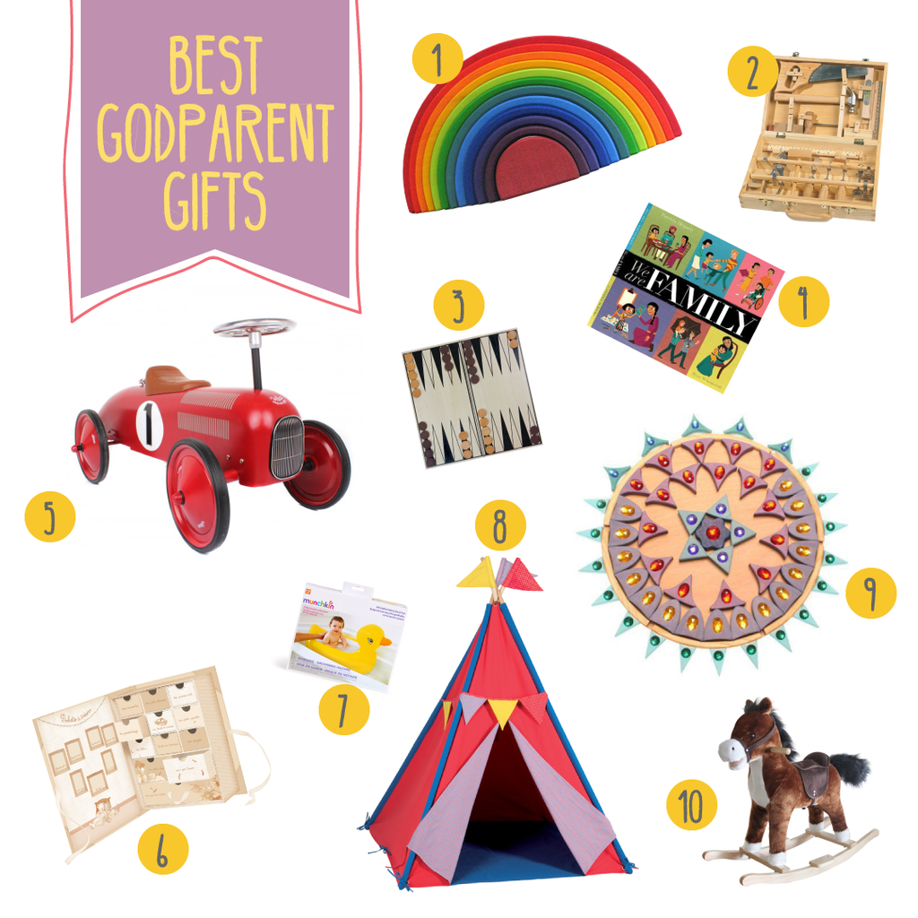 best godparent gifts