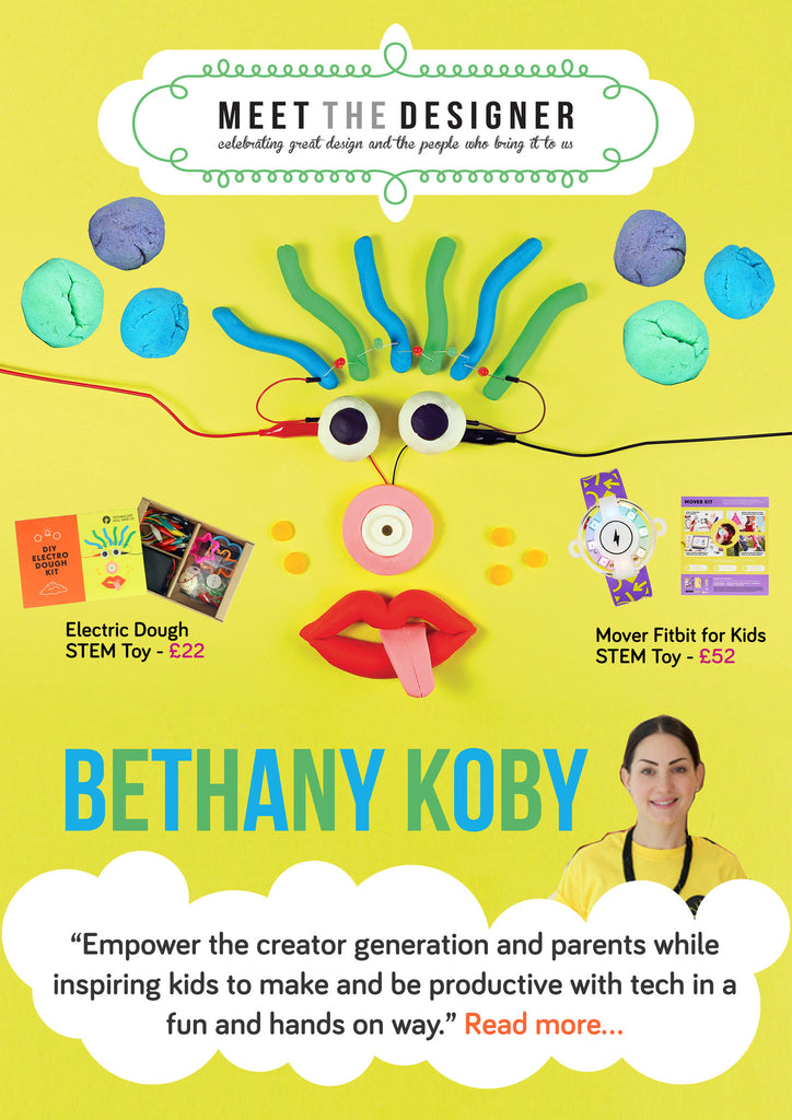 MEET the DESIGNER Bethany Koby of Tech Will Save Us STEAM toys