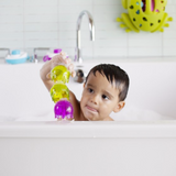 bath or shallow pool toys to help with motor skills