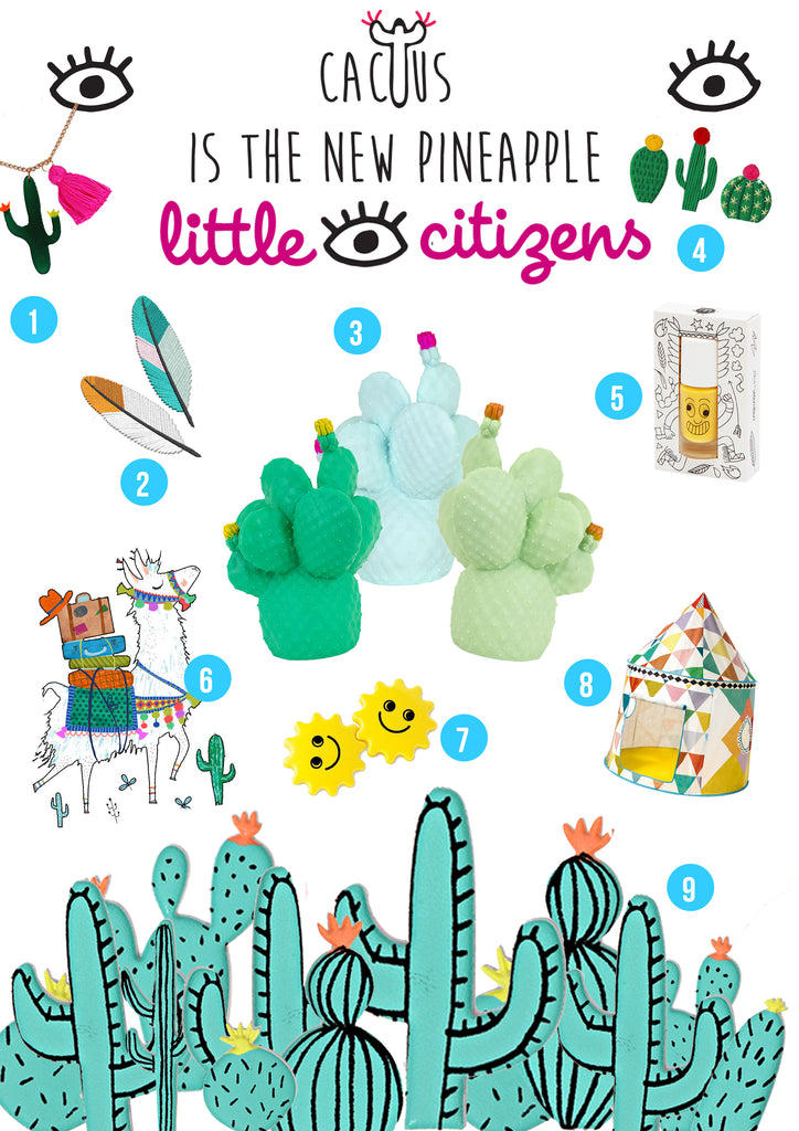 Cactus Trend and accessories that say Desert Cool at Little Citizens Boutique