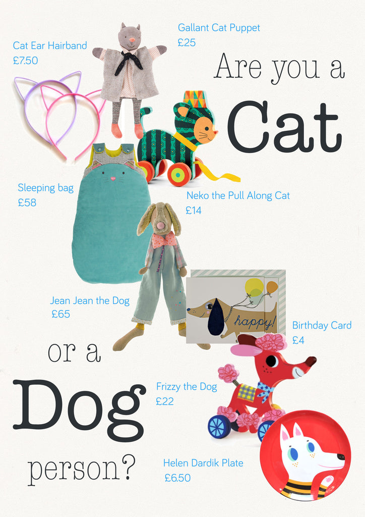 Cat and Dog accessories that are adorable and make great gifts for animal lovers.