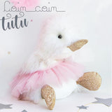 tutu duck toy for baby shower