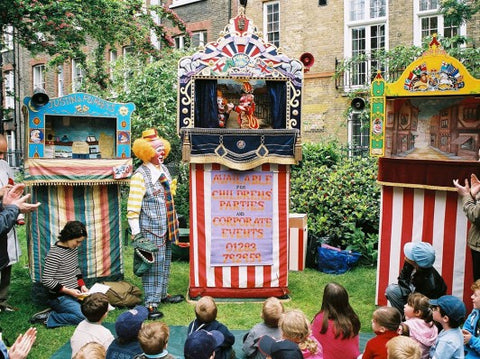 Punch and Judy performances in London Parks travel tips for families via Urban Explorers