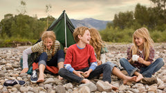 Kids outdoors entrusted to look after themselves is what Free Range Kids is all about
