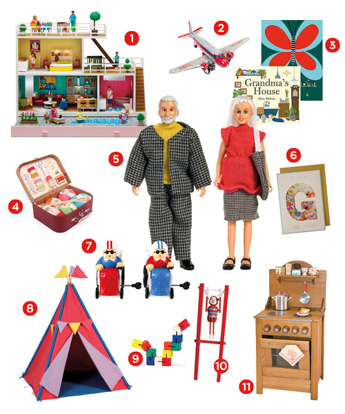 Grandparents Grandmother and Grandfather Gift Guide for shopping this Christmas