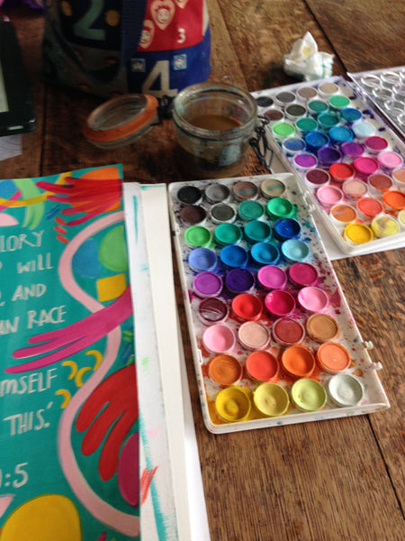 Djeco Gouaches paints for sale at Little Citizens Boutique