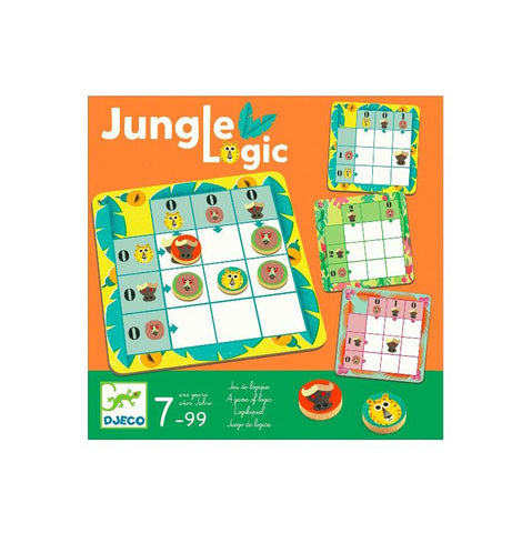 Jungle Logic board game